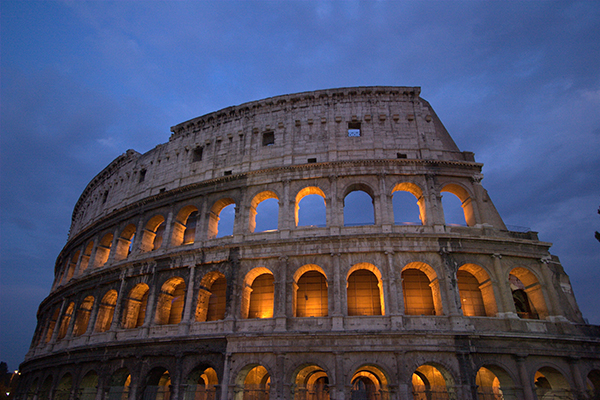 sight-seeing and culture on your camping trip to Italy & Rome