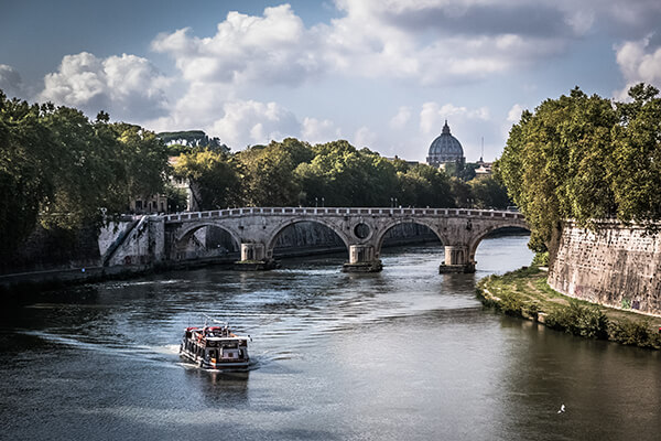 see all that Rome has to offer with EuroParcs mobile home accommodation