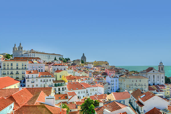 beautiful towns in portugal - experience with a camping holiday