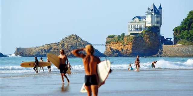 Camping holidays in Biarritz - beautiful beaches