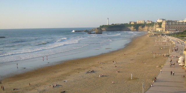 Camping in stunning Biarritz, France